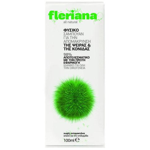 Power Health Fleriana Anti Lice Shampoo Για Την Άμεση Απομάκρυνση Της Ψείρας 100ml