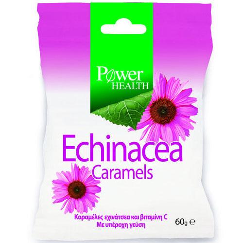Power Health Echinacea Caramels Τονώνει Την Άμυνα Του Οργανισμού 60g