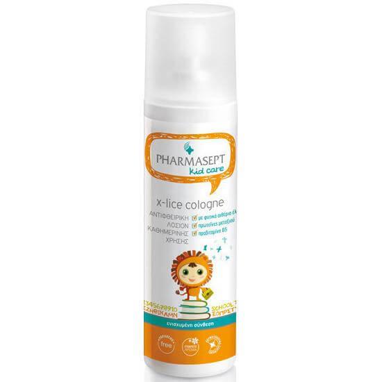 Pharmasept Kid Care Tol Velvet X-Lice Cologne Αντιφθειρική Λοσιόν Καθημερινής Χρήσης 100ml
