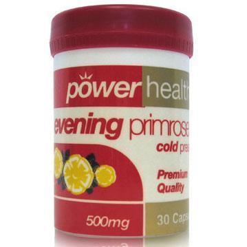 Power Health Evening Primrose Oil 500mg Αντιμετώπιση Των Συμπτωμάτων Του Προεμμηνορυσιακού Συνδρόμου 30s