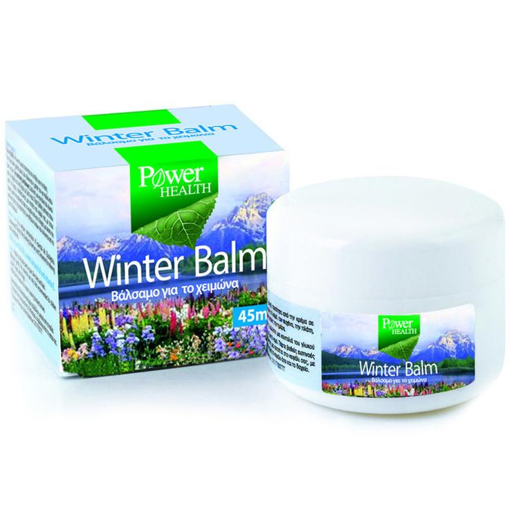 Power Health Κρυολόγημα Winter Balm Βαλσαμο Για Εντριβή Και Εισπνοές 45ml