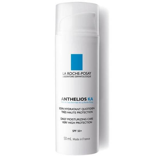 La Roche Posay Anthelios KA Spf50+ Hydratant Protecteur Quoditient 24η Ενυδατική Καθημερινή Πολύ Υψηλή Αντηλιακή Προστασία 50ml