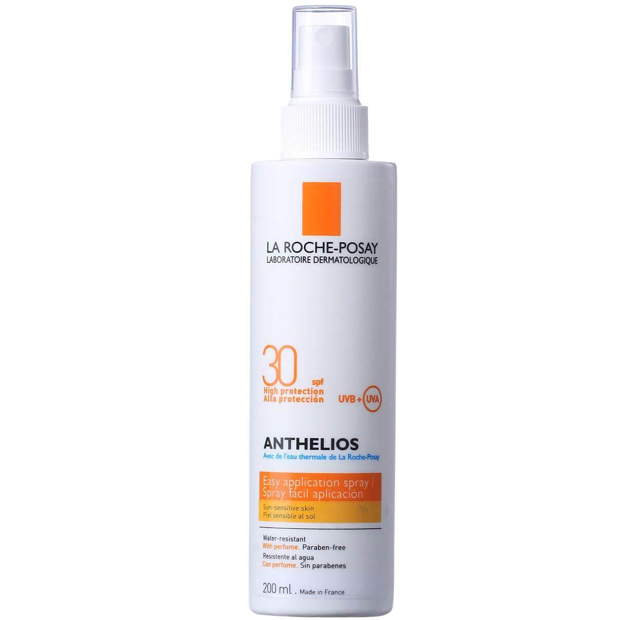 La Roche-Posay Anthelios Spray Spf30 Σπρέϋ Υψηλής Αντηλιακής Προστασίας Για Το Σώμα Χωρίς Άρωμα 200ml