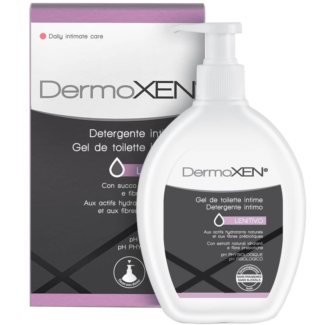 Dermoxen Intimate Cleanser Lenivito Καθαριστικό για την Ευαίσθητη Περιοχή, Ιδανικό για τη Ξηρότητα, με Εκχύλισμα Aloe Vera 200ml
