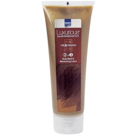 Luxurious Body Wash 2 in 1 Chocolate Αφρόλουτρο & Ενυδατική Κρέμα με Άρωμα Σοκολάτα 250ml