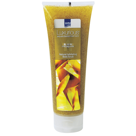 Luxurious Vanilla Exfoliating Body Scrub Αναζοωγονητική Απολέπιση με Άρωμα Βανίλια Μαδαγασκάρης 250ml