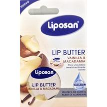 Liposan Lip Balm Butter Vanilla & Macadamia 16,7gr