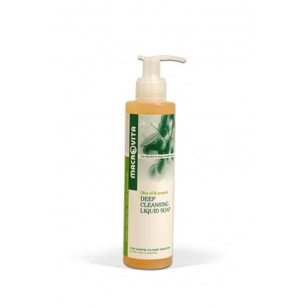 Macrovita Deep Cleansing Liquid Soap Υγρό Σαπούνι για Βαθύ Καθαρισμό 200ml