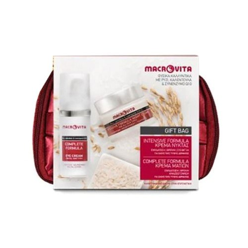 Macrovita Σετ Intensive Formula Κρέμα Νύκτας 40ml & Complete Formula Κρέμα Ματιών 30ml & Δωρο Υπέροχο Νεσεσερ
