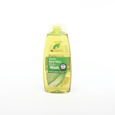 Dr Organic Organic Aloe Vera Body Wash Αφρόλουτρο Με Βιολογική Αλόη Βέρα 250ml