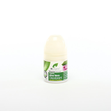 Dr Organic Organic Aloe Vera Deodorant Αποσμητικό με Βιολογική Αλόη Βέρα 50ml