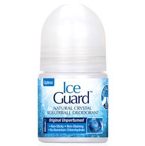 Optima Ice Guard Rollerball Deodorant Υποαλλεργικό Αποσμητικό απο Φυσικά Μεταλλικά Άλατα Χωρίς Άρωμα 50ml