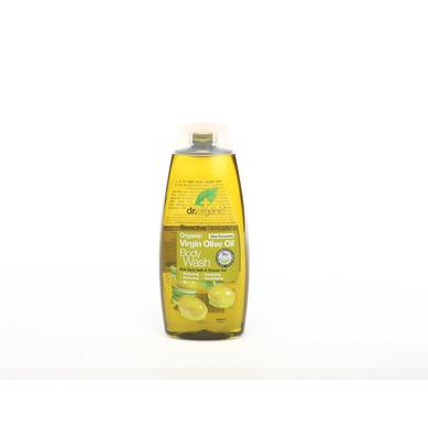 Dr Organic Organic Virgin Olive Oil Body Wash Αφρόλουτρο Με Παρθένο Λάδι Ελιάς 250ml