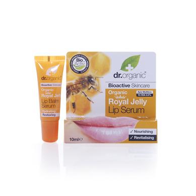Dr Organic Organic Royal Jelly Lip Serum Σέρουμ Εντατικής Ενυδάτωσης Για Τα Χείλη 5.7ml