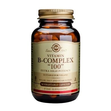 Solgar Formula B- Complex «100mg» veg.caps – 50 veg.caps