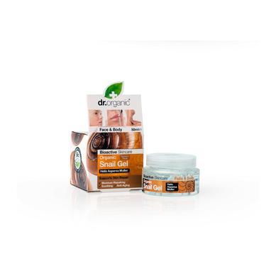 Dr Organic Organic Snail Gel Φυσικό Έκκριμα Του Σαλιγκαριού 50ml