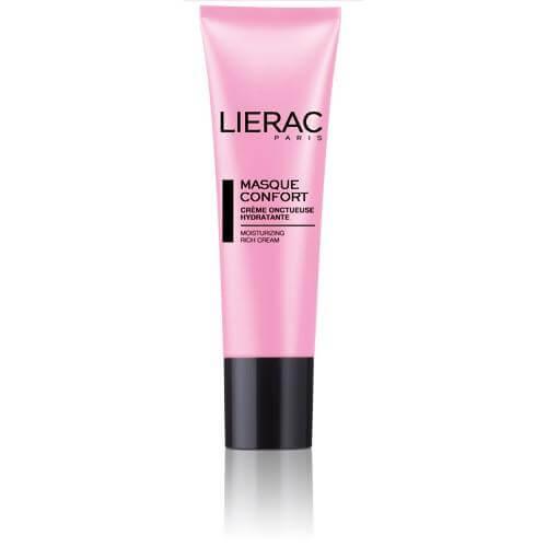 Lierac Masque Confort Ενυδατική Μάσκα Προσώπου Με Ροζ Άργιλο Ιδανική Για Ολους Τους Τύπους Επιδερμίδας 50ml