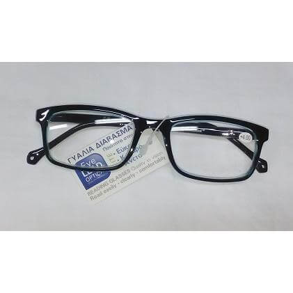 Eyelead Γυαλιά Διαβάσματος Μαύρο Γαλάζιο Κοκκάλινο E143 – 2,75