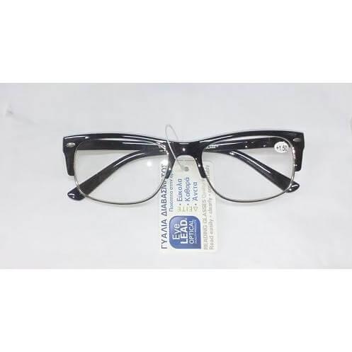 Eyelead Ανδρικά Γυαλιά Διαβάσματος Μαύρο Κοκκάλινο – 2.25