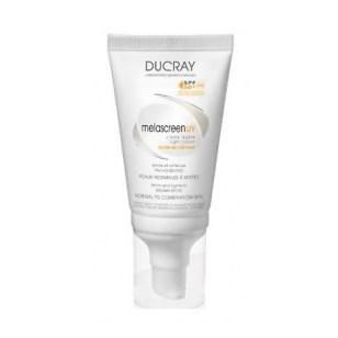 Ducray Melascreen UV Creme Riche Spf50, Αντηλιακή κρέμα με Πλούσια υφή κατάλληλη για τη μείωση των δυσχρωμιών 40m