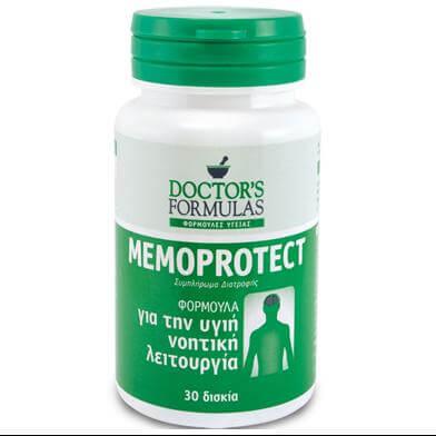 Doctor's Formula Memoprotect Φόρμουλα για την Νοητική Λειτουργία 30tabs