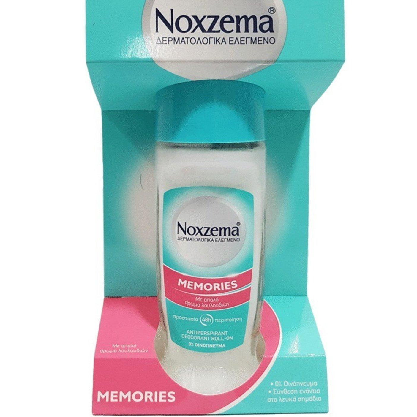 Noxzema Roll On Memories Ευχάριστη Αίσθηση Φρεσκάδας 50ml