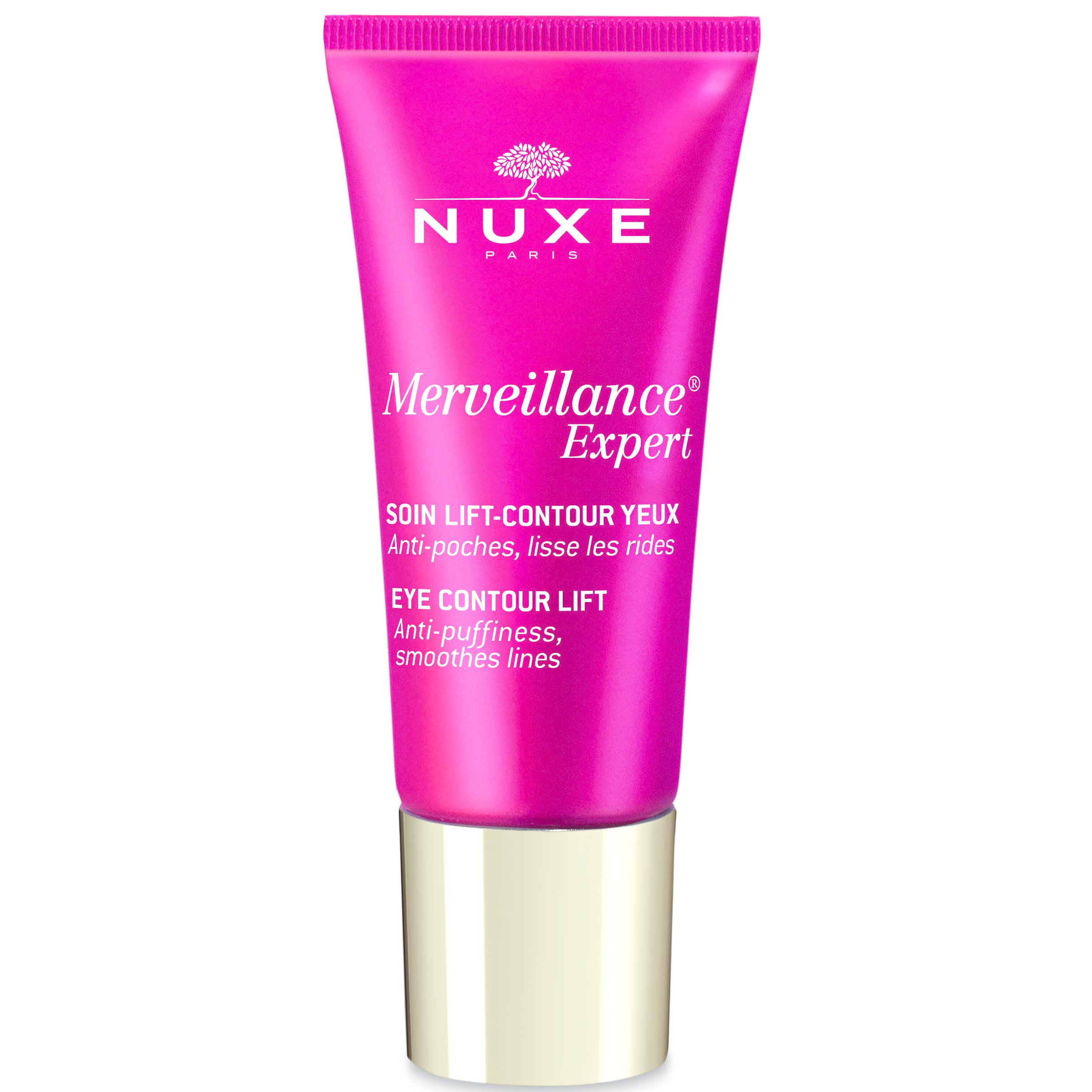 NUXE Merveillance Expert Soin Lift-Contour Yeux Κρέμα Ματιών, Λειαίνει & Δρα Ενάντια στις Σακούλες & τους Μαύρους Κύκλους 15ml