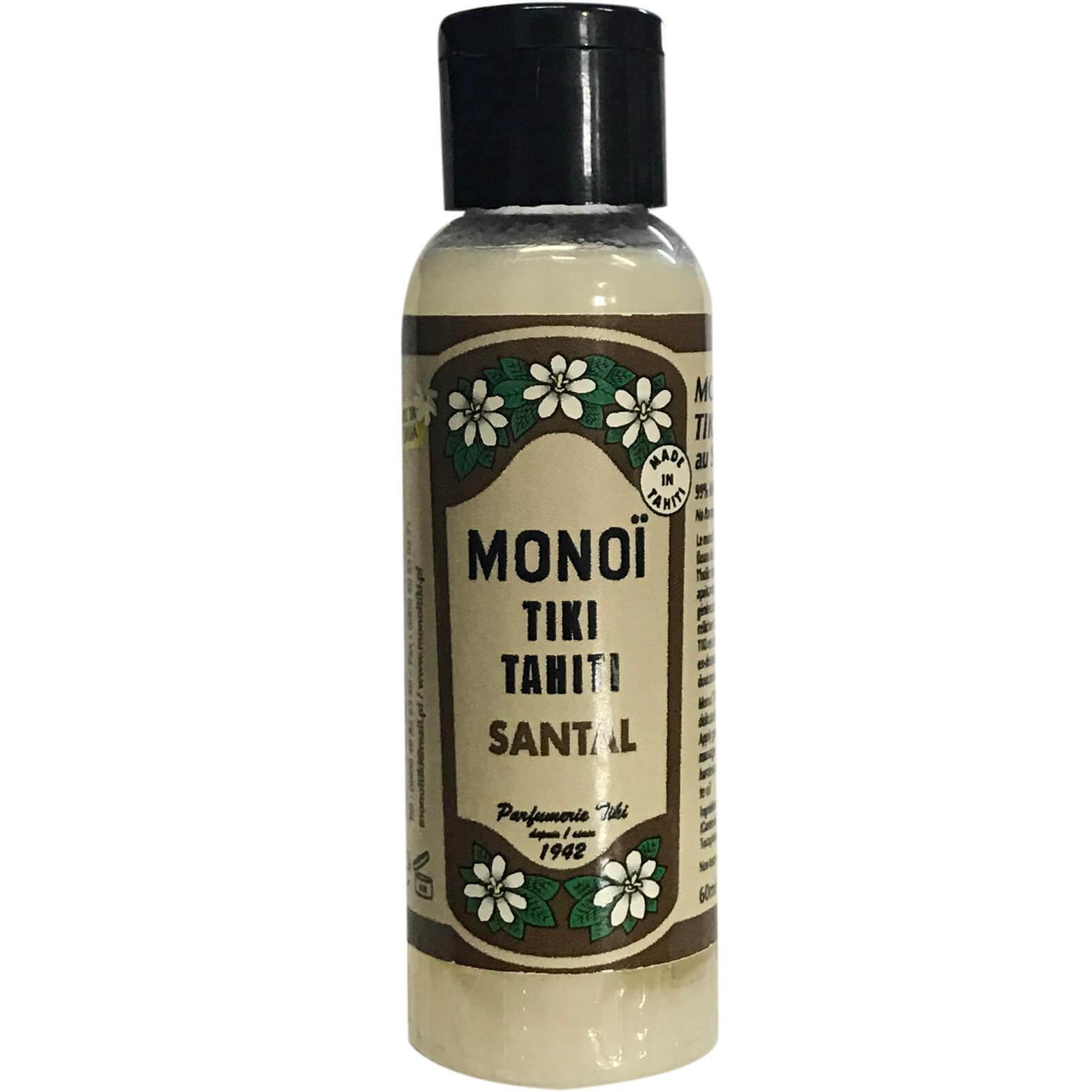 Monoi Tiki Tahiti Sandalwood Ενυδατικό Λάδι Σώματος με Άρωμα Σανταλόξυλο 60ml