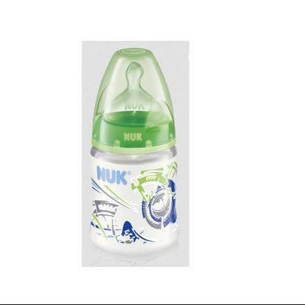 NUK First Choice Μπιμπερό Πολυπροπυλενίου (PP) 150ml Θηλή Σιλικόνης Χρωματιστό – μπλέ