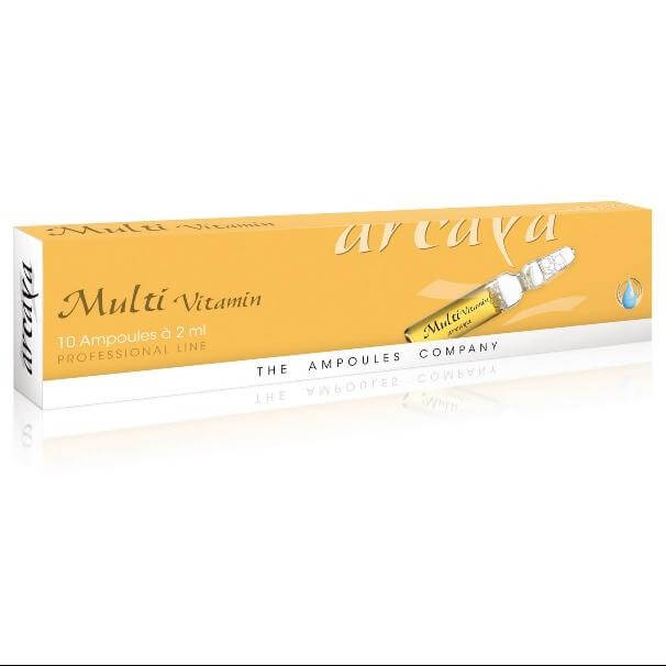 Arcaya Multi Vitamin Ampoules Φυσική Aντιγήρανση, Kυτταρική Προστασία & Ευεξία 10x2ml