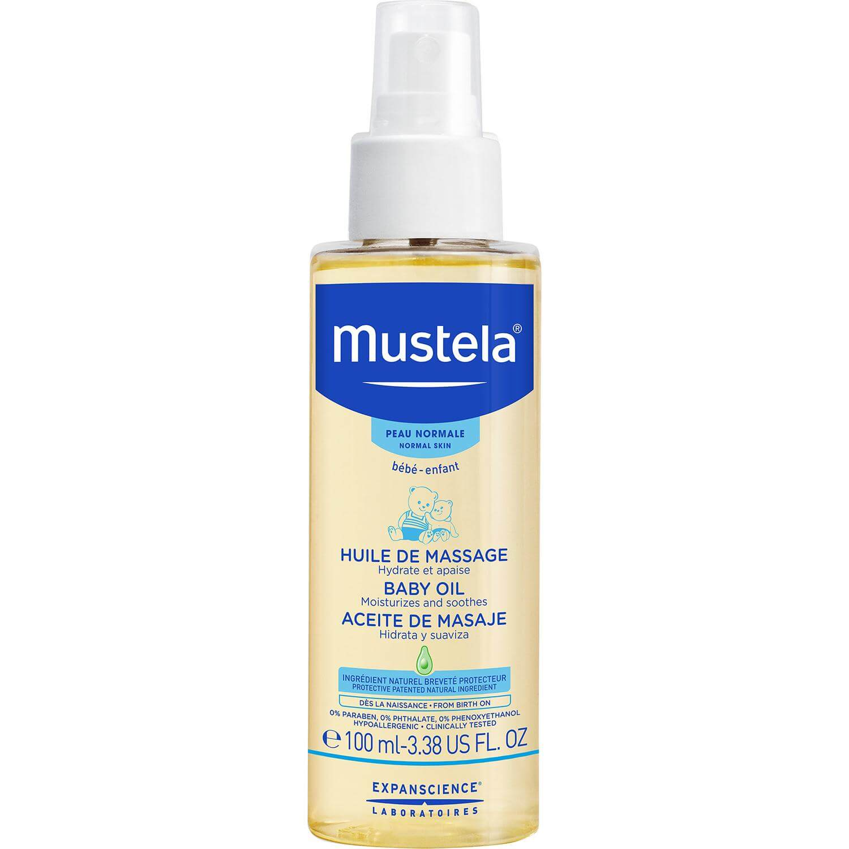 Mustela Baby Oil Βρεφικό Ενυδατικό Λάδι για Μασάζ 100ml