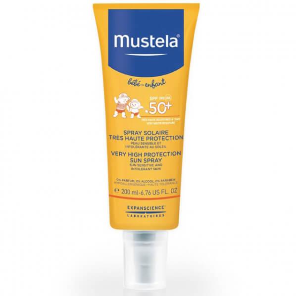 Mustela Bebe Very High Protection Sun Lotion Spf50+ ΒρεφικόΑντηλιακό Πολύ Υψηλής Προστασίας200ml