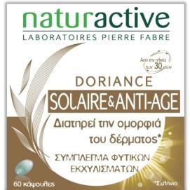 Naturactive Doriance Solaire & Anti-Age Συμπλήρωμα Διατροφής για τη Διατήρηση της Ομορφιάς του Δέρματος 60caps