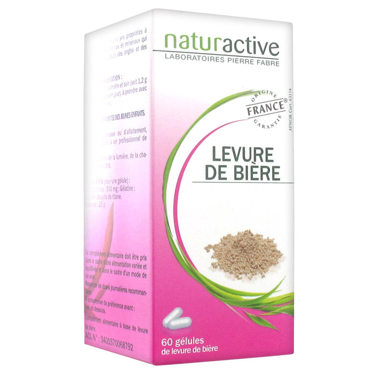Naturactive Μαγιά Μπύρας Δυναμώνει Μαλλιά & Νύχια & Συμβάλει στην Ενίσχυση του Οργανισμού 60caps