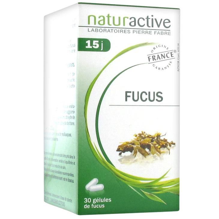 Naturactive Fucus Συμπλήρωμα Διατροφής απο Θαλλάσια Φύκια, Συμβάλλει στη Μείωση της Όρεξης Δημιοργώντας Αίσθηση Κορεσμού 30caps