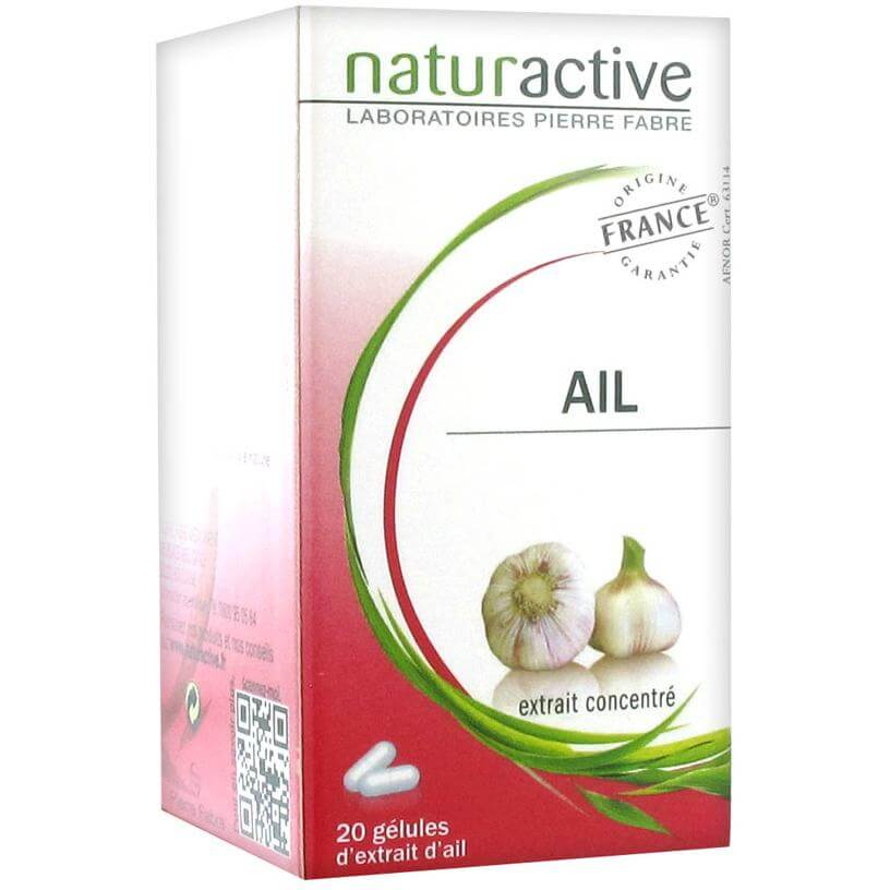 Naturactive Ail Σκόρδο Συμβάλει στην Καλύτερη Κυκλοφορία του Αίματος & στην Διατήρηση της Χοληστερίνης σε Σωστό Επίπεδο 20caps