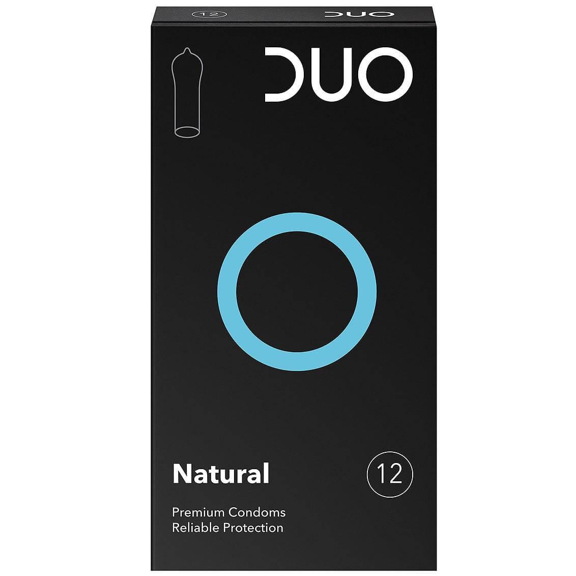 Duo Natural Φυσικά Προφυλακτικά 12τεμ