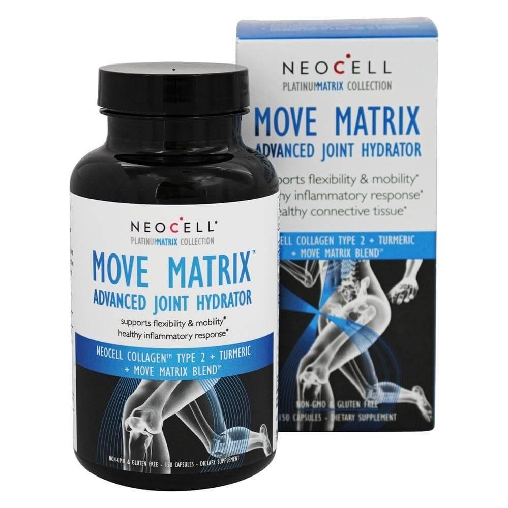 Neocell Move Matrix Advanced Joint Hydrator Συμπλήρωμα Διατροφής, Υποστηρίζει την Ελαστικότητα & Κινητικότητα Αρθρώσεων 150cap