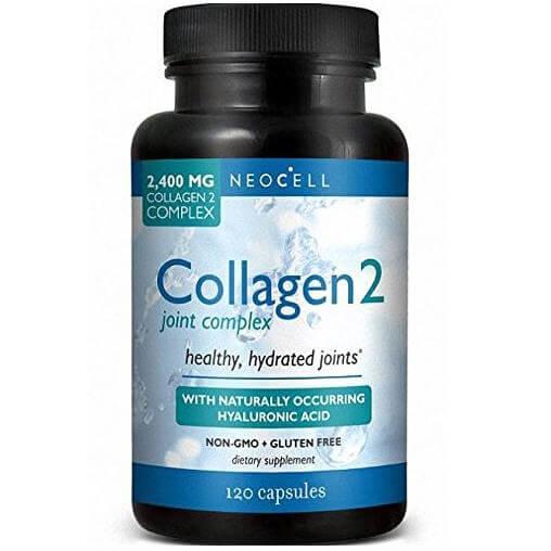 Neocell Κολλαγόνο Τύπου 2 Ενισχυμένο Με Υαλουρονικό Οξύ Για Τις Αρθρώσεις 120 Κάψουλες