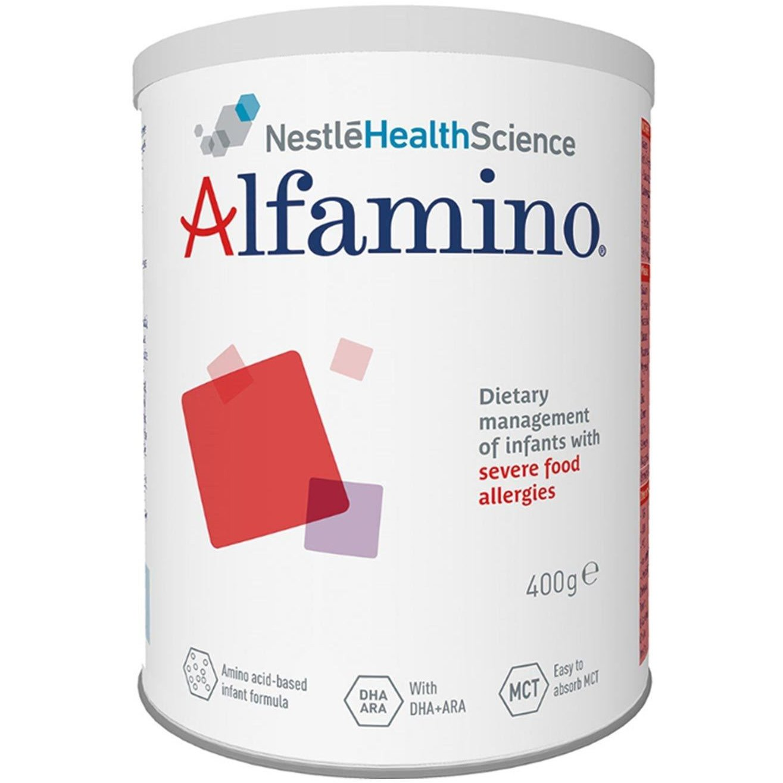 Nestle Alfamino Διαιτητική Αγωγή Βρεφών με Σοβαρές Τροφικές Αλλεργίες Κατάλληλο από τη Γέννηση 400gr