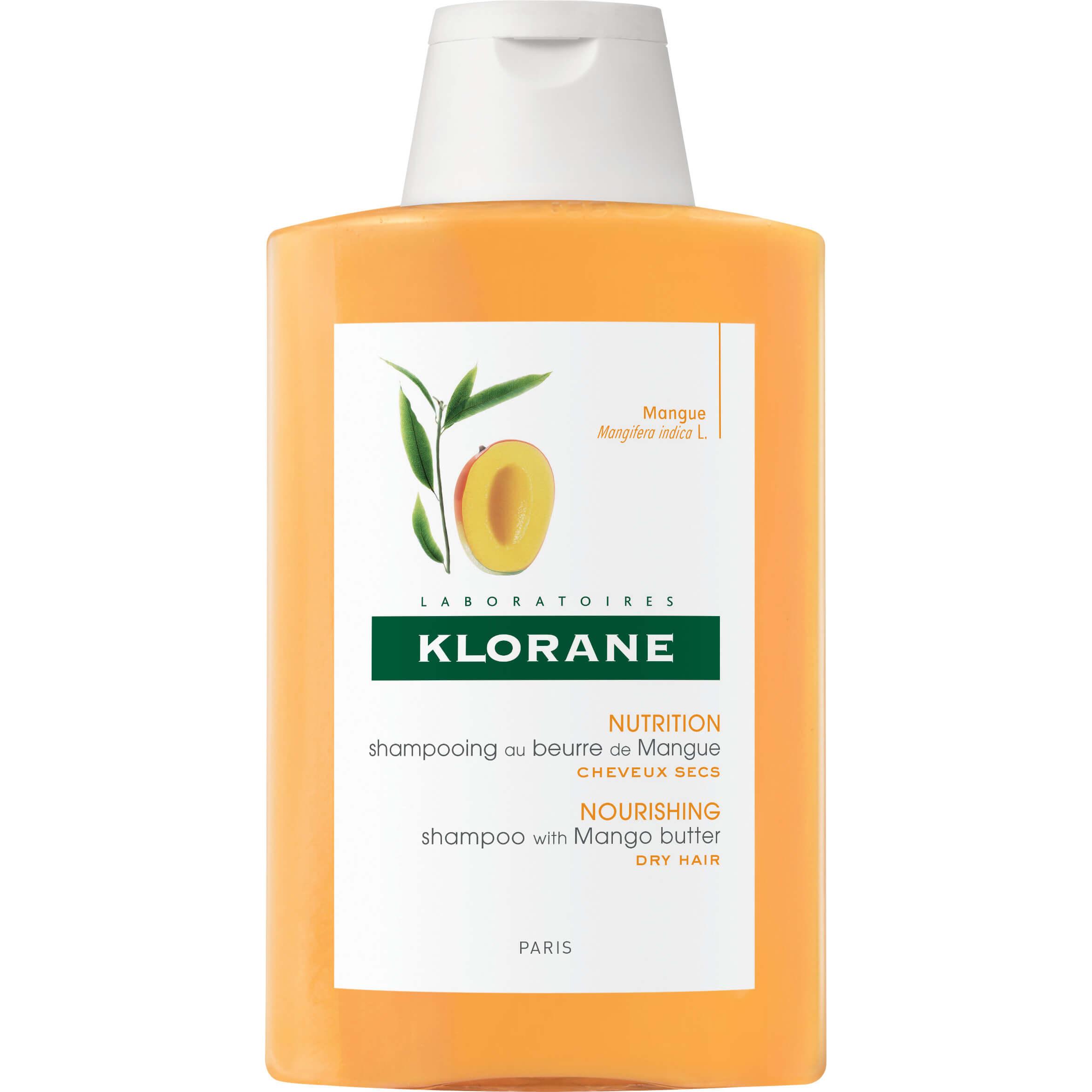 Klorane Mangue Shampoo, Σαμπουάν με Μάνγκο για Ξηρά – Ταλαιπωρημένα Μαλλιά 200ml / 400ml – 400ml