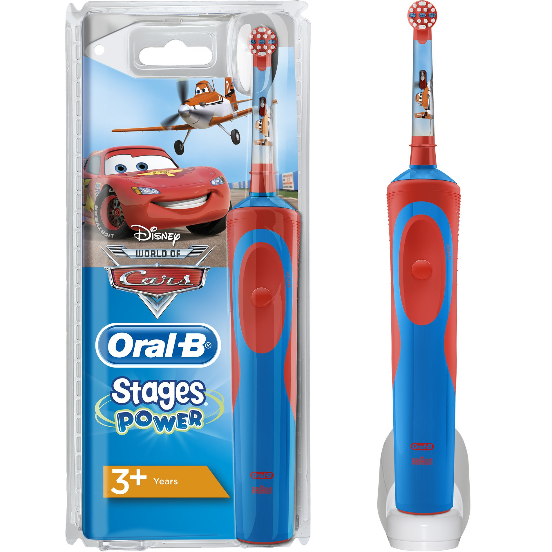 Oral-B Vitality Stages Cars 3+ years Παιδική Ηλεκτρική Οδοντόβουρτσα