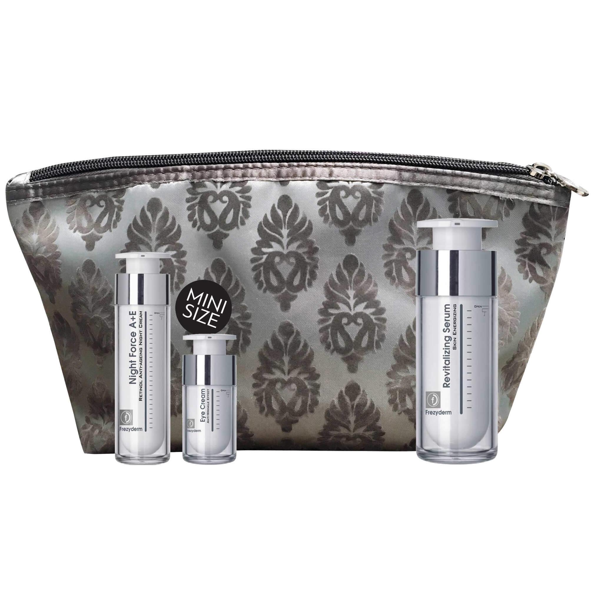 Frezyderm Πακέτο Προσφοράς Revitalizing Serum 30ml & Δώρο Night Force A+E Cream 10ml & Eye Balm Cream 5ml & Νεσεσέρ
