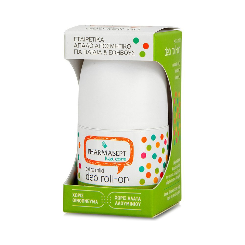 Pharmasept Kid Care Extra Mild Deo Roll-on Αποσμητικό για Παιδιά & Εφήβους 50ml