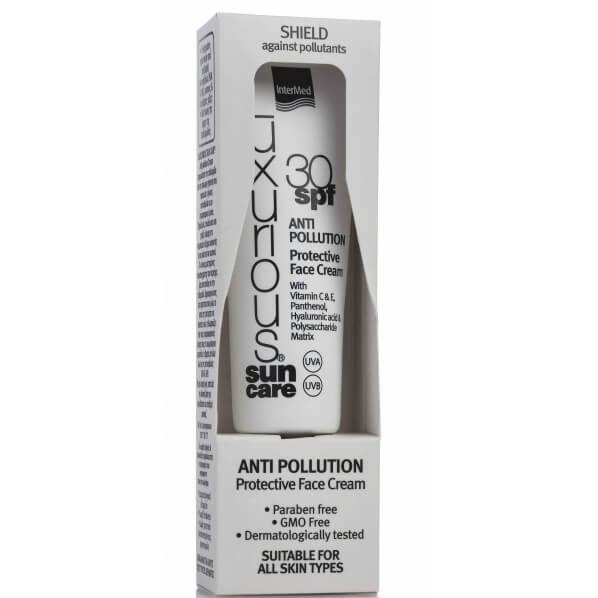Luxurious Suncare Anti-Pollution Protective Face Cream Spf30 Αντηλιακή Προστατευτική Κρέμα Ενάντια των Ατμοσφαιρικών Ρύπων 50ml