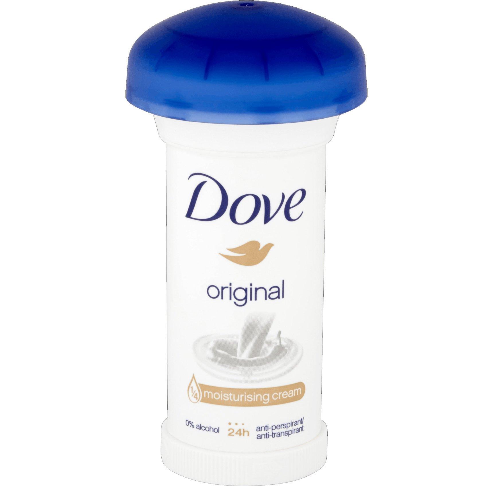 Dove Deodorant Stick Original 24h Αποσμητικό 24ωρης Αντιιδρωτικής Προστασίας με Διακριτικό Άρωμα 50ml
