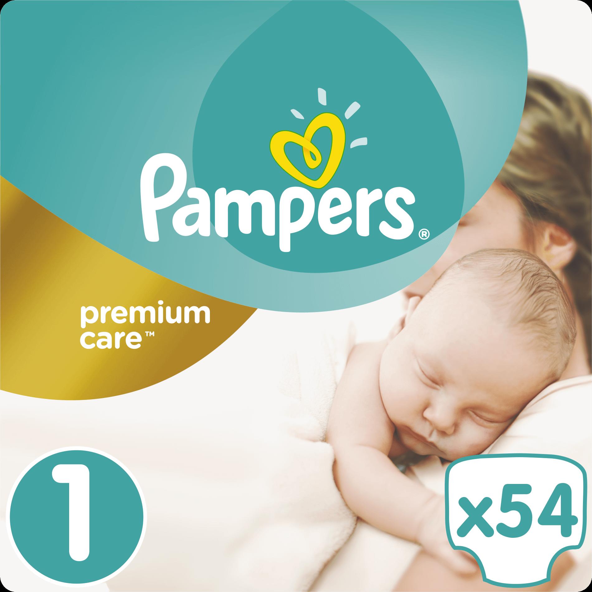 Pampers Premium Care No1 (2-5kg) 54 πάνες μητέρα παιδί   περιποίηση για το μωρό   πάνες για το μωρό