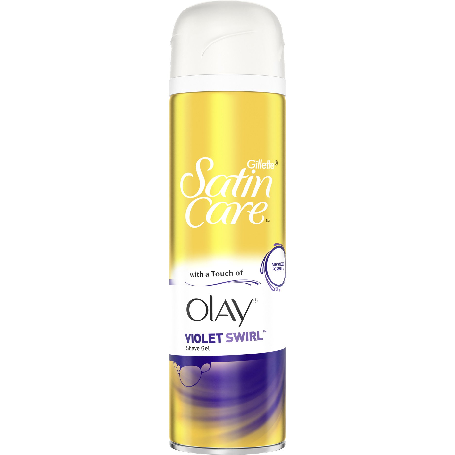 pharm24 Gillette Satin Care Gel Ξυρίσματος Violet Swirl With a Touch of  Olay για Άψογο Ξύρισμα 200ml 554098f83d0