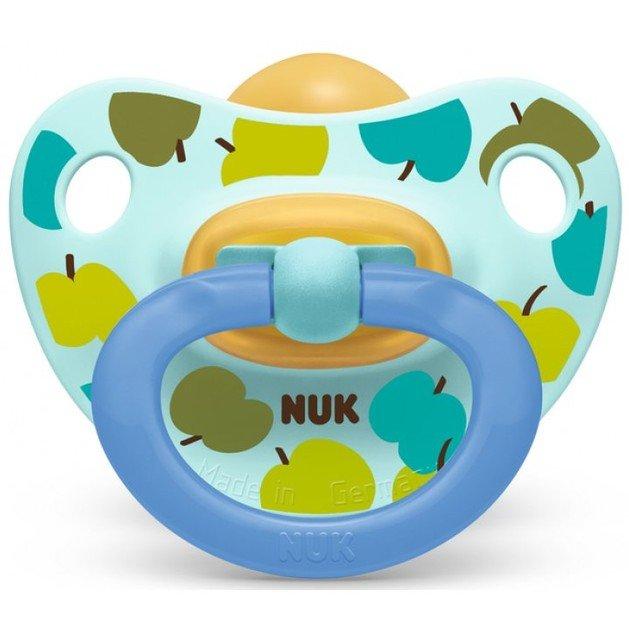 Nuk Classic Happy Kids Πιπίλα απο Καουτσούκ με Κρίκο Μεγέθους 2 (6-18 Μηνών) 1τμχ