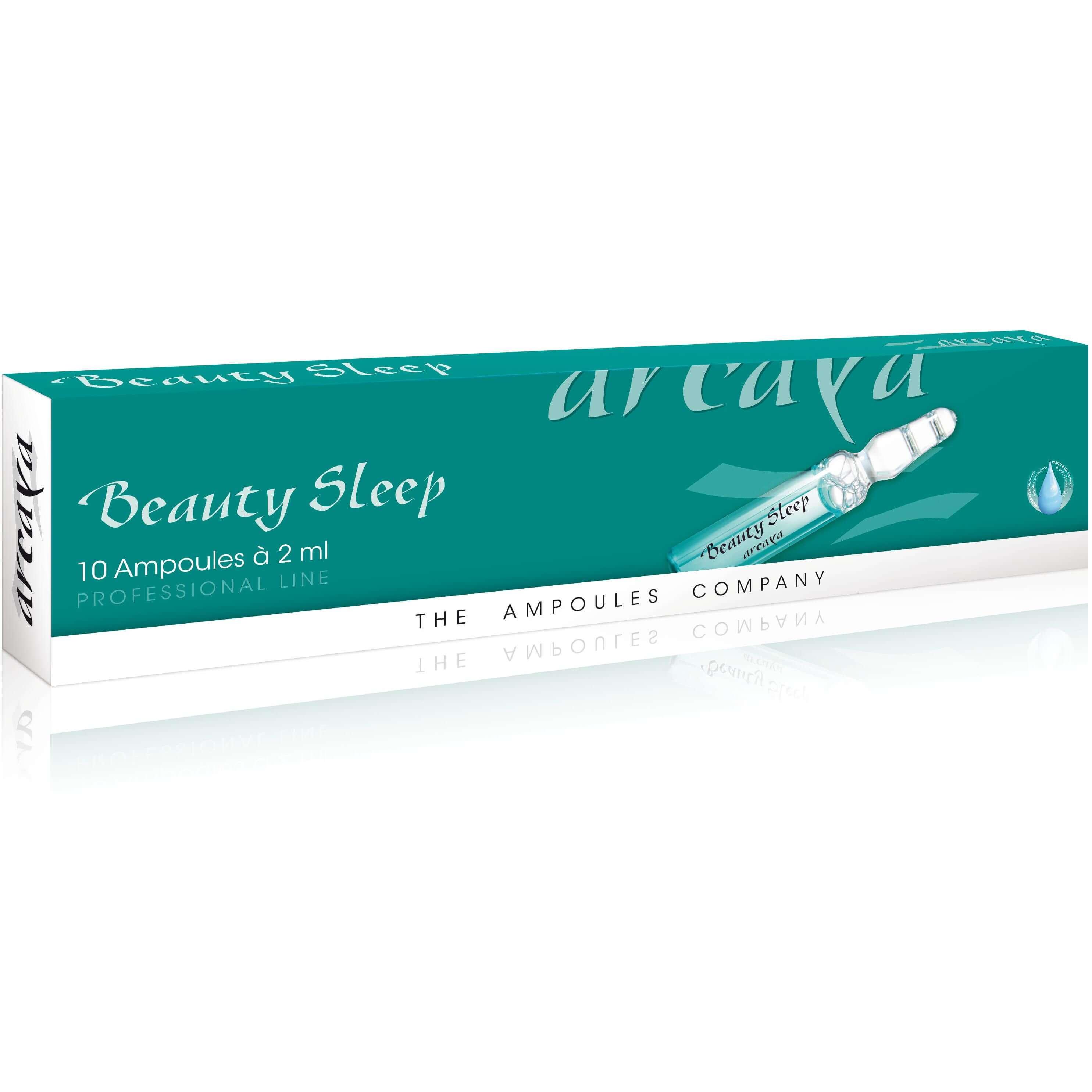 Arcaya Beauty Sleep Εντατική Βραδινή Φροντίδα Ομορφιάς Κατά των Λεπτών Γραμμών & Ρυτίδων 10x2ml